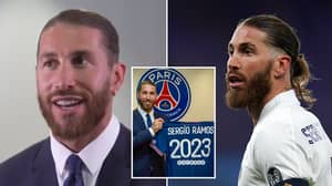 Sergio Ramos Rejected Two Massive Premier League Clubs Before Joining PSG