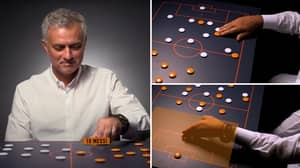Jose Mourinho Explaining His Tactics To Beat A Prime Barcelona Shows How Incredibly Prepared He Was