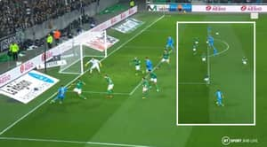 Dimitri Payet Scores Goal From Impossible Angle For Marseille Vs St-Etienne