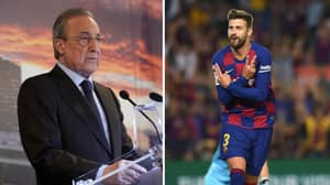 Gerard Pique Takes Cheeky Dig At Real Madrid Over Leaked Audio