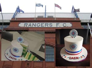 Rangers Fan Is Trolled By His Own Birthday Cake