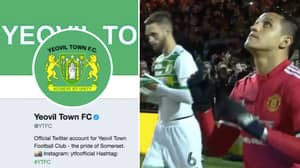 Yeovil's Official Twitter Account Takes Major Dig At Alexis Sanchez At Full-Time
