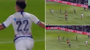 San Lorenzo Defender Gabriel Rojas Hits Stunning Strike Against Platense