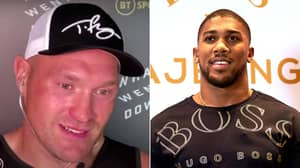 """Tyson Fury Immediately Fires Back At Anthony Joshua Over """"Fraud"""" Claim In Heated Exchange"""