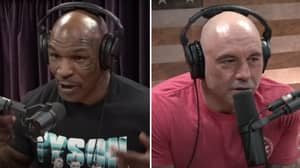 Joe Rogan Made His Podcast Desk Wider Because He Was Scared Of Mike Tyson