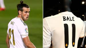 Real Madrid Have Already Given Gareth Bale's Shirt Number Away In One Final Insult