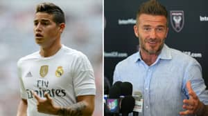 David Beckham Targeting James Rodriguez As Inter Miami's First Marquee Signing