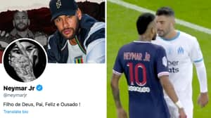 Neymar Immediately Reacts After Accusing Marseille Defender Of Racist Remark