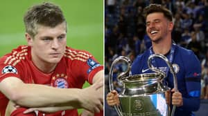 Toni Kroos' Heartbreaking Reaction To Losing His First CL Final Reemerges After Mason Mount & Chelsea Win It