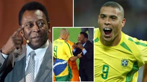 Ronaldo Has Been Voted The Greatest Brazilian Footballer Of All Time Ahead Of Pele
