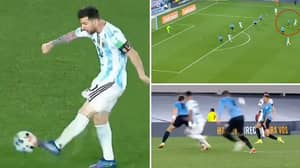 Lionel Messi Scores His Freakiest Goal Yet To Hit South American Milestone