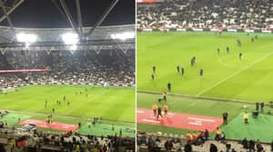 West Ham's Ground Staff Brilliantly Played Liverpool At Their Own Game At Half-Time