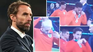 England Players Slammed By Fans For Taking Off Runners-Up Medals After Euro 2020 Final Defeat To Italy