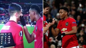 Fan Hilariously Dubs Over Anthony Martial's Conversation With Andreas Pereira