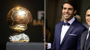 Kaka Reveals His Two Picks For This Season's Ballon d'Or