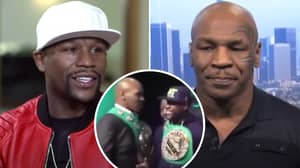 Mike Tyson Says Prime Version Of Himself Would Kick Floyd Mayweather's 'A**e' In A Street Fight