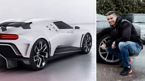 Cristiano Ronaldo Spends €9.5 Million On Limited Edition Bugatti Centodieci, Only 10 Have Been Made