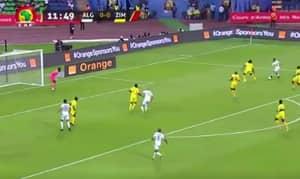 WATCH: Leicester City's Riyad Mahrez Score Stunning Goal For Algeria