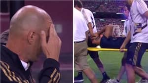 Zinedine Zidane Couldn't Watch After Marco Asensio Suffered A Horrific Injury Against Arsenal