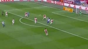 Watch: Martin Odegaard Scores A Long-Range Stunner Against Ajax