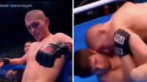 Footage Of How Khabib Used To Fight When Headbutts Were Legal In Russia