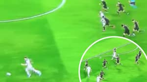 The Moment Seven Atletico Madrid Players Defend A Counter-Attack In The Champions League
