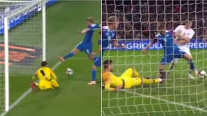 Hugo Lloris Makes The Most Incredible 'Quadruple Save' Against Iceland