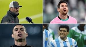 Jurgen Klopp Weighs In On Maradona Vs Messi And Ronaldo Debate