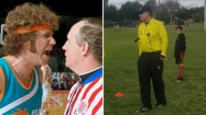 Will Ferrell Referees Kids' Football Game In America