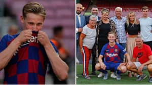 Frenkie De Jong Explains The Importance Of Wearing The No.21 Shirt At Barcelona