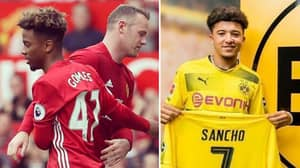 There's A Mad Rumour Emerging About Angel Gomes And Borussia Dortmund