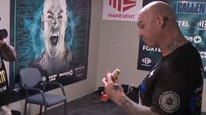 Lucas 'Big Daddy' Browne Rubbishes Claims He Was Eating A Sausage Roll Moments Before Paul Gallen Bout