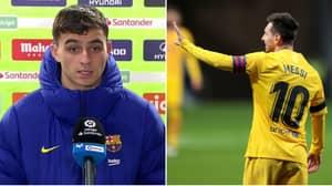 Lionel Messi And Barcelona Slammed For Sending Pedri, 17, To Speak To Media After Atletico Madrid Defeat