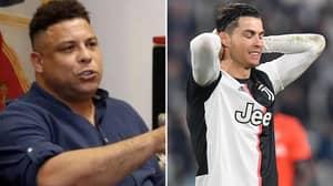 'R9' Ronaldo Names Five Players He Enjoys Watching, Doesn't Mention Cristiano Ronaldo
