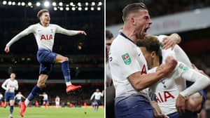 Tottenham Hotspur Have Knocked Arsenal Out Of The EFL Cup