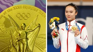 Chinese Olympian Claims Her Gold Medal Is Peeling