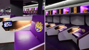 College Football Team LSU Have The Most Ridiculous Locker Rooms