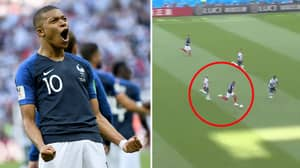 The Moment Kylian Mbappe Ran 38km/h To Smash The World Cup 2018 Record