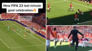 Footage Of Last Minute Goal Celebration On FIFA 22 Leaked Online And It's Limbs Everywhere