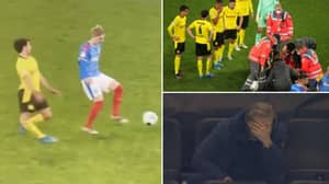 Erling Haaland Was Visibly Distressed Seeing Teammate Mateu Morey Suffer A Horror Injury