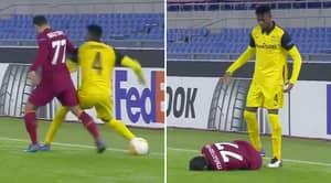 Defender Named Mohamed Ali Camara Throws Punch At Henrikh Mkhitaryan