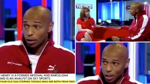 When Thierry Henry Declared Paul Scholes As 'The Premier League's Greatest' In Brilliant TV Interview
