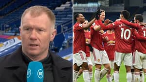 Paul Scholes Says Manchester United's Two 'Best Players' Started On The Bench Vs Leicester City