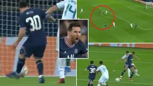 Lionel Messi Scores His First Goal For PSG Against Man City And It's An Absolute Beauty