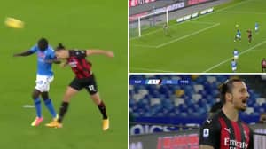 39-Year-Old Zlatan Ibrahimovic Scores Outrageous Header For AC Milan Against Napoli