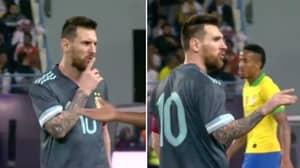 Lionel Messi Scores Winner On International Return And Silences Brazil Boss Tite
