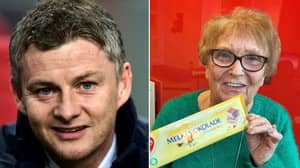 Ole Gunnar Solskjaer Gifts Manchester United's Receptionist With A Bar Of Norwegian Chocolate