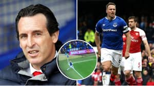 Fans Think Everton Goal's Versus Arsenal Should Have Been Disallowed