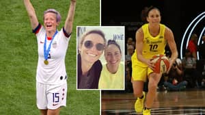 Megan Rapinoe Claims Basketballer Fiancee Sue Bird Would Be 'The Best No.10 In The World'