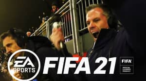 There's A Petition To Get Gary Neville And Jamie Carragher On FIFA 22 Commentary